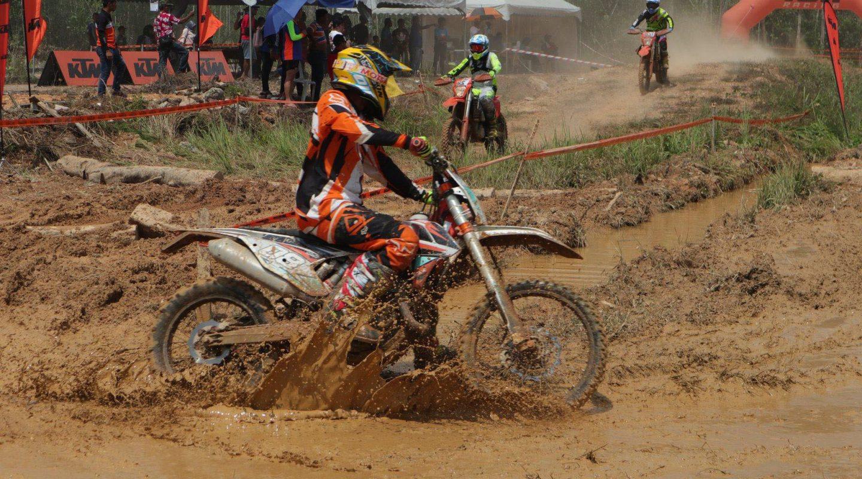 KTM Orange Motorcross Merdeka Race